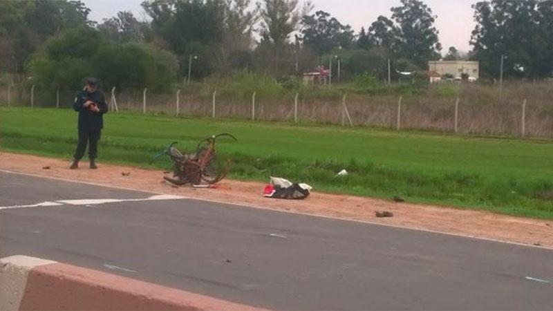 Fatal accidente en el ingreso a Concepción del Uruguay