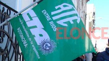 ATE realiza hoy un paro nacional y se moviliza en Paraná