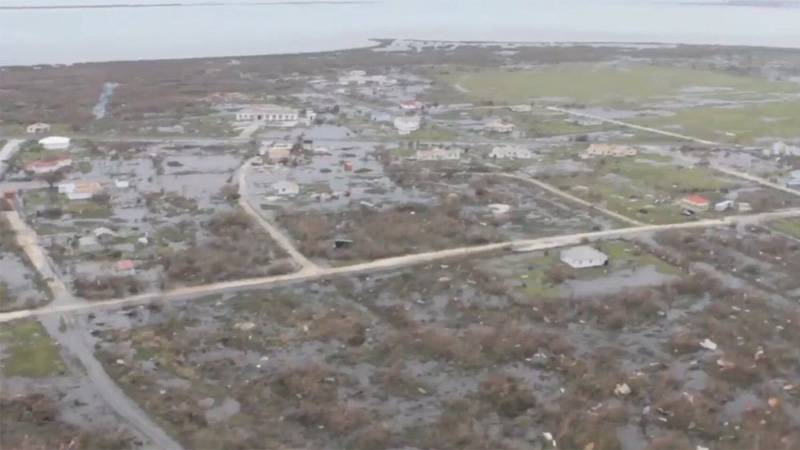Galería: Así se vive Irma en República Dominicana y Haití