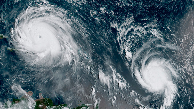 Así se ve José junto a Irma