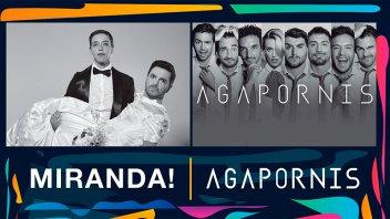 Miranda y Agapornis estarán esta noche en el Parque Berduc: Todos los detalles