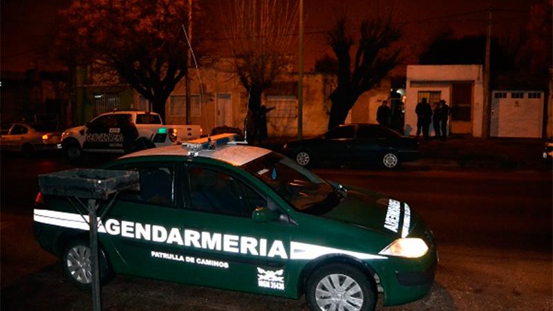 Allanamiento de Gendarmería en Gualeguaychú.