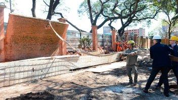 Comenzaron las obras de reforma en la Residencia de Olivos