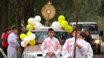La capilla de adoración eucarística de la Iglesia Guadalupe cumplió un año