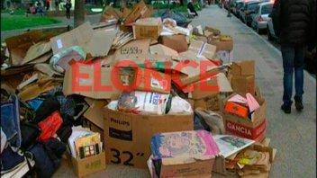 Ecoclubes canjearon papel, cartón y aluminio por plantines