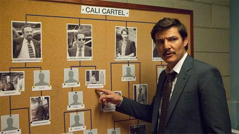 Una imagen de la serie Narcos, de Netflix.