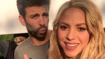 La foto que desmentiría los rumores de crisis entre Shakira y Piqué
