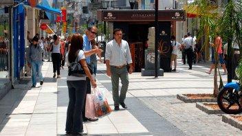 Más detalles de la remodelación de Peatonal San Martín y las plazas cercanas