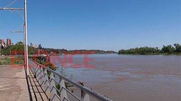 El río Paraná registra una pronunciada creciente y seguiría subiendo