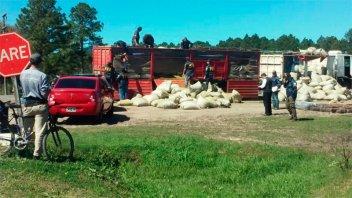 Secuestran un cargamento con varias toneladas de marihuana en la Ruta 127