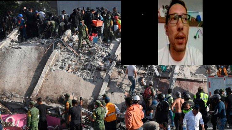 Paranaense contó cómo vivió el sismo en México: