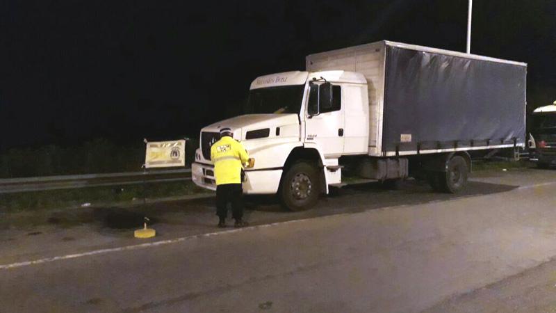 Islas del Ibicuy: Lo detuvieron en la ruta con un camión robado