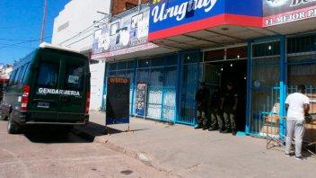 Gendarmería allanó un supermercado en Concepción del Uruguay