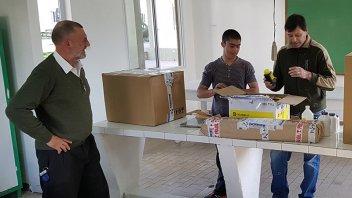 La Fundación NBER equipó el laboratorio de una escuela en Villa Paranacito