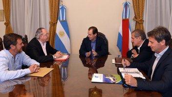 Bordet se interiorizó sobre la situación del frigorífico equino de Gualeguay