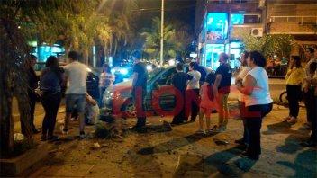 Fuerte encontronazo entre dos vehículos: hay lesionados