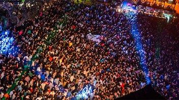 Casi 15.000 personas se movilizaron a fiestas por el Día del Estudiante