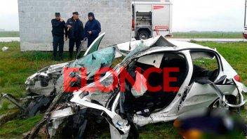 Fatal accidente en la ruta 11 se cobra la vida de dos personas