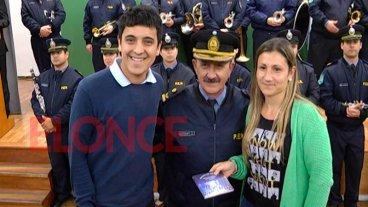 La Banda de Música la Policía presentó un CD que será entregado en las escuelas