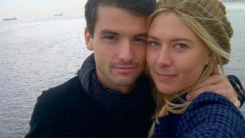 Maria Sharapova contó detalles de su relación con Grigor Dimitrov