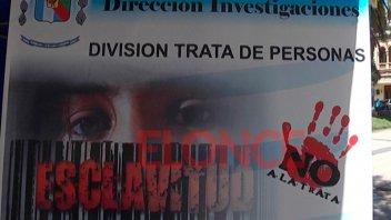 Día internacional contra la trata: policía realiza jornada de concientización