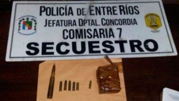 Secuestraron material explosivo en la casa de un gendarme retirado