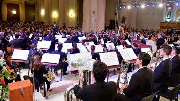 La Orquesta Sinfónica Nacional se presentó en Concepción del Uruguay