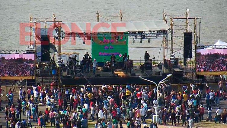 La Fiesta de la Primavera y el Estudiante ya se vive en el puerto de Paraná