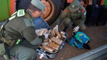 En Gualeguaychú secuestraron 3 kilos de cocaína y 2 de marihuana en un año