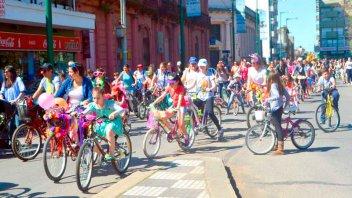 Bicicleteada por el Día de la Primavera convocó a más de 3.000 personas