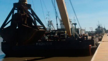 Limpiarán el río para lograr la operatividad del Puerto Ibicuy