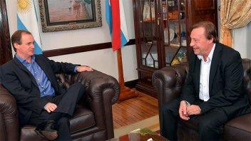 Bordet y Varisco dialogaron sobre obras para Paraná y zonas aledañas