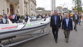 Entre Ríos adquirió embarcaciones y vehículos para casos de emergencia