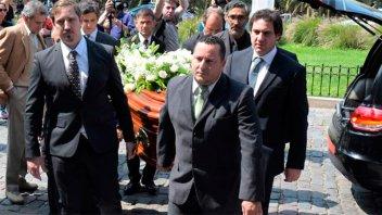 Familiares y amigos despidieron a María Julia Alsogaray