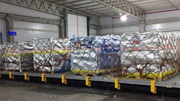 Productores de arándanos celebran exportación con carga máxima