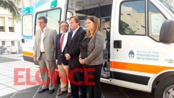 La Nación entregó una ambulancia al municipio de Paraná