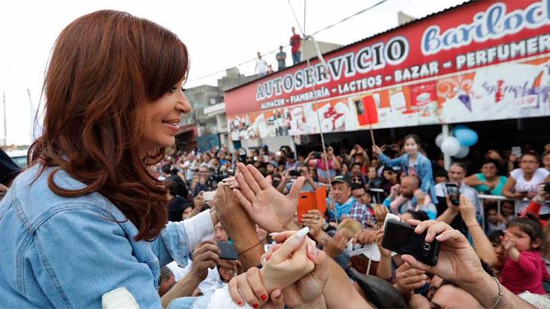 En La Matanza, Cristina Kirchner pidió