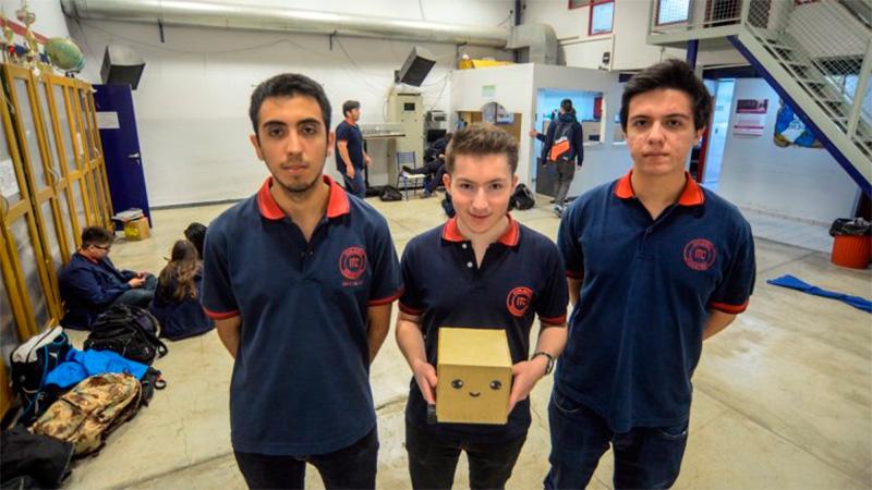 El robot con el que competirán a nivel internacional.
