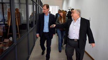 Bordet visitó la firma Lafedar y ratificó su decisión de generar competitividad