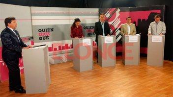 Candidatos a diputados nacionales debatieron de cara al 22 de octubre