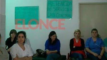 Hay retención de servicios en el laboratorio central del hospital San Martín
