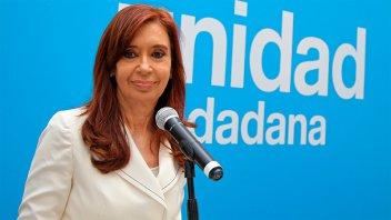 Cristina denunció estigmatización y un deterioro de las