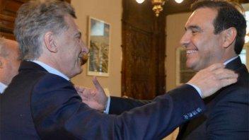 Macri se reunió con el gobernador electo de Corrientes, Gustavo Valdés