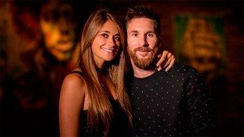 Antonela Roccuzzo no viajará a Rusia para el cumpleaños de Lionel Messi