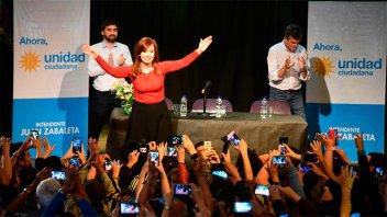 Cristina de campaña: