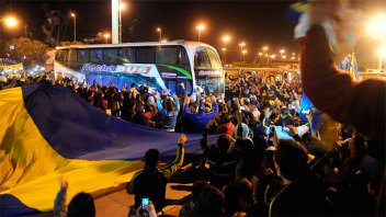 Boca Juniors llegará a Paraná después del mediodía del sábado