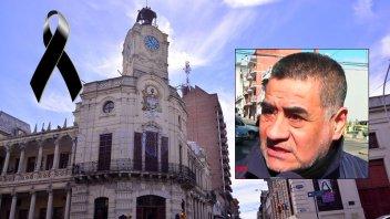 La comuna declaró dos días de duelo por el fallecimiento de José Zamora