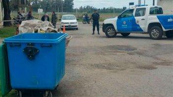 Hallaron el cuerpo de un bebé en un contenedor de basura