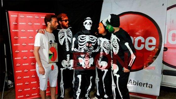Videos: Los personajes de la Fiesta de Disfraces que hablaron con Elonce TV