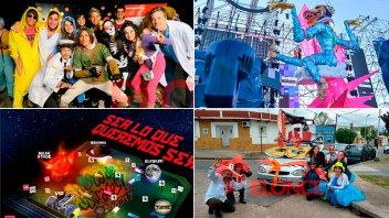 Llegó el día: Paraná palpita la Fiesta de Disfraces y la podrás ver por Elonce